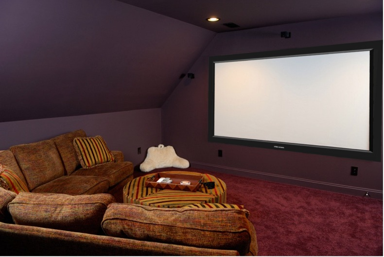 Topic of the day one thing jennifer elliott for Small room movie theater
