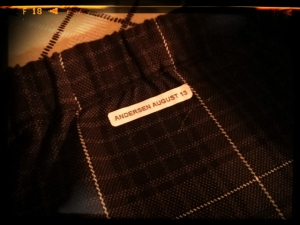 SKIRT WITH MY PERSONAL LABEL