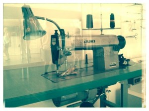 I saw this vintage sewing machine at one of the Smithsonian museums.