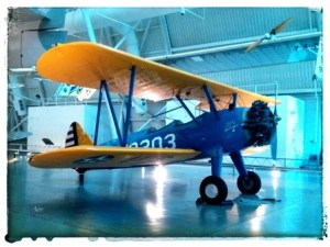 For reasons unknown to me, I love this plane ... maybe the bright colors caught my eye.