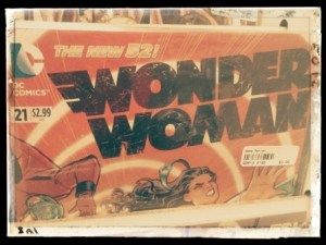 I found a bunch of Wonder Woman comic books at a local game store.