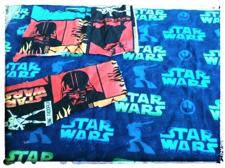 THE OTHER SET OF STAR WARS SCRAPS