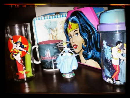 I FINALLY HAVE A PLACE TO DISPLAY WONDER WOMAN AND CINDERELLA!
