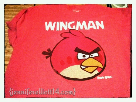 MY ANGRY BIRD T-SHIRT