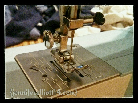 AW, MEMORIES OF CHANGING THE BOBBIN AND NEEDLES ...